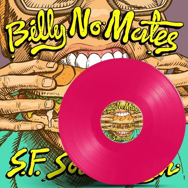 BILLY NO MATES, sourdough - pink vinyl cover