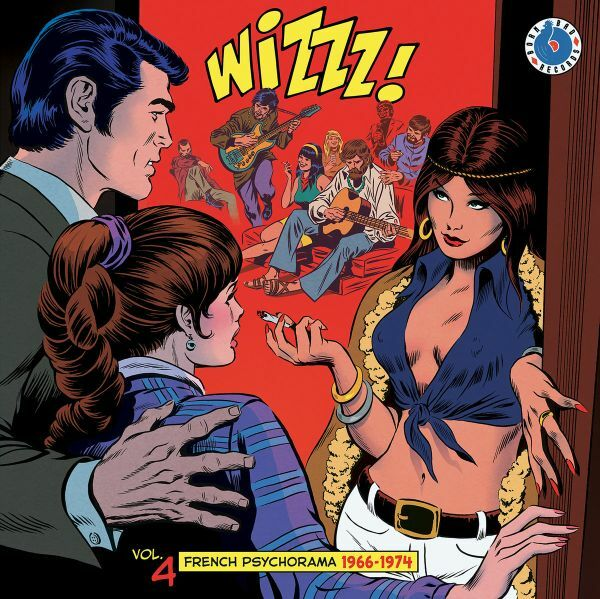 V/A, wizzz vol 4 - french psychorama 1966/1974 cover