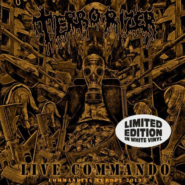 TERRORIZER, live commando cover