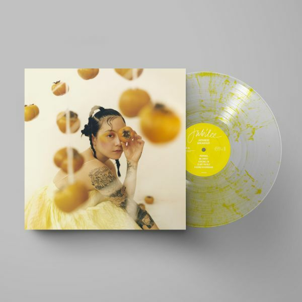 JAPANESE BREAKFAST, jubilee (signed clear yellow vinyl with poster) cover