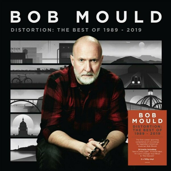 BOB MOULD, distortion: best 1989-2019 cover