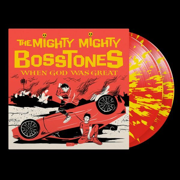 MIGHTY MIGHTY BOSSTONES, when god was great cover