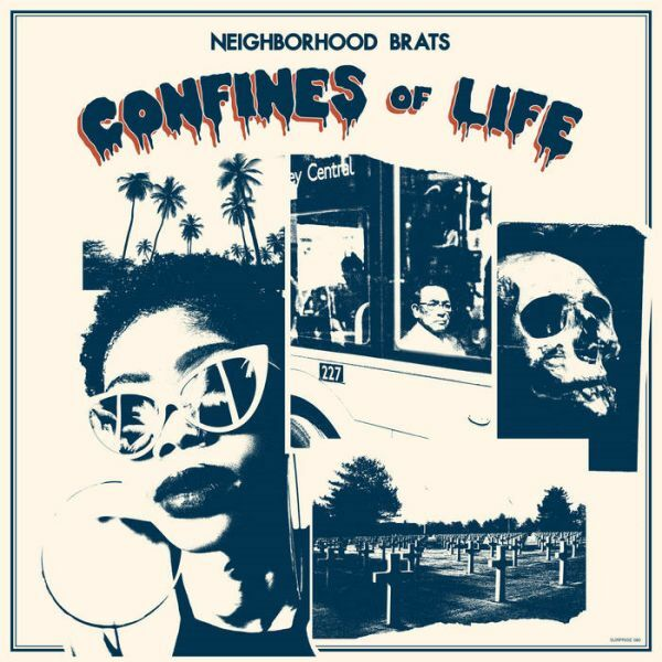 NEIGHBORHOOD BRATS, confines of life cover