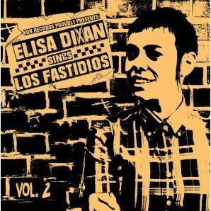 ELISA DIXAN, sings los fastidios vol. 2 cover