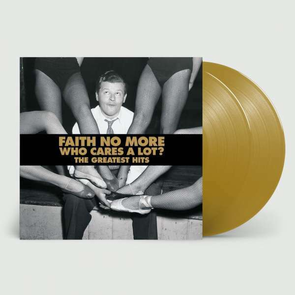 FAITH NO MORE, who cares a lot? the greatest hits cover