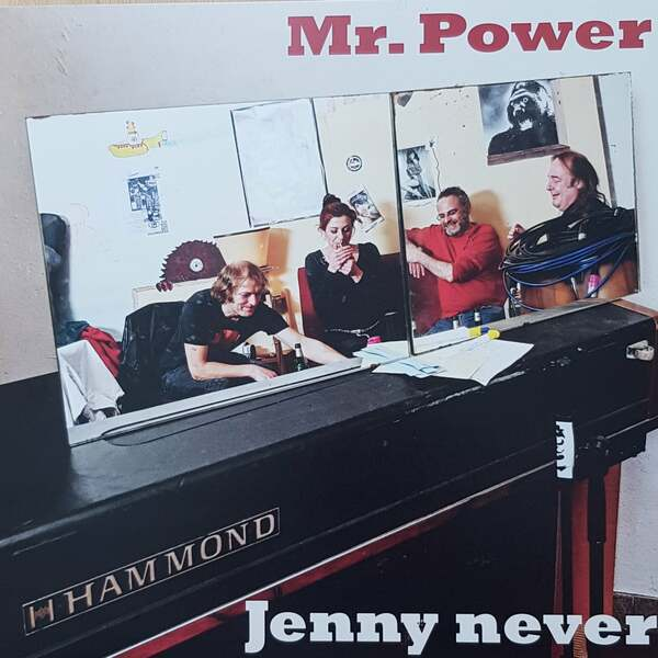 JENNY NEVER, mr power cover