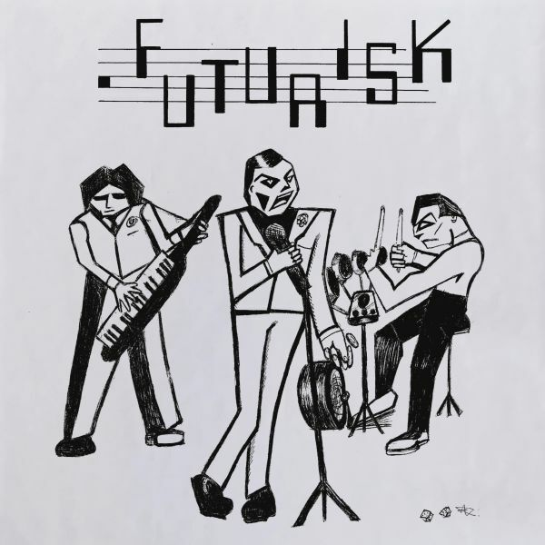 FUTURISK, recordings 1980 - 1982 cover
