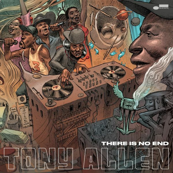 TONY ALLEN, there is no end cover