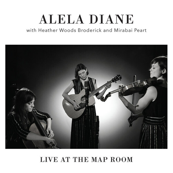 ALELA DIANE, live at the map room cover
