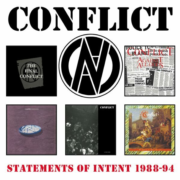 CONFLICT, statements of intent 1988-1994 cover
