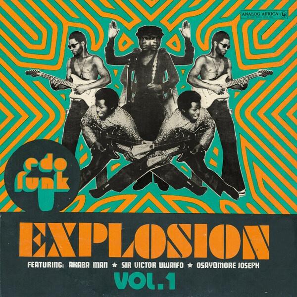 V/A, edo funk explosion cover