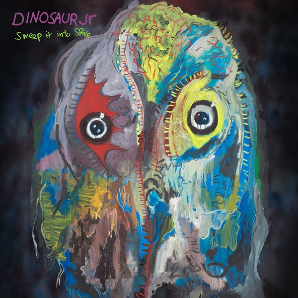 DINOSAUR JR., sweep it into space (translucent purple ripple) cover