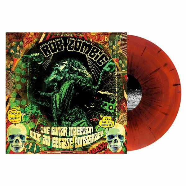 ROB ZOMBIE, the lunar injection kool aid ... cover