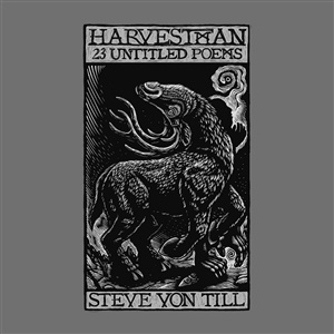 STEVE VON TILL / HARVESTMAN, 23 untitled poems cover