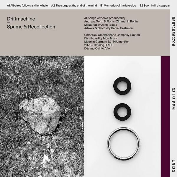 DRIFTMACHINE, spume & recollection cover