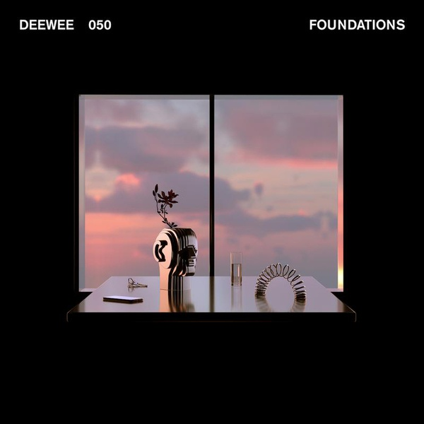 V/A, deewee - foundations cover
