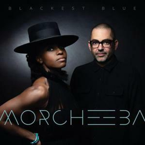 MORCHEEBA, blackest blue cover