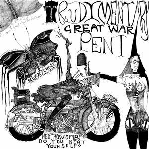 RUDIMENTARY PENI, great war cover