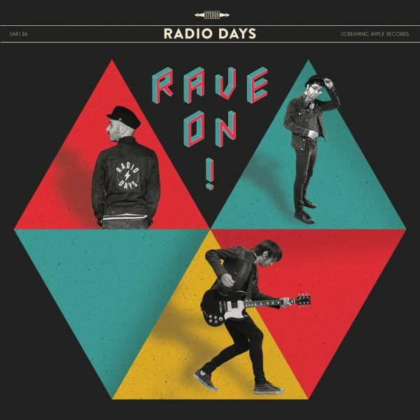 RADIO DAYS, rave on cover