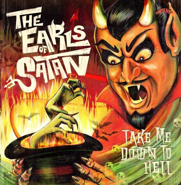 EARLS OF SATAN, take me down to hell cover