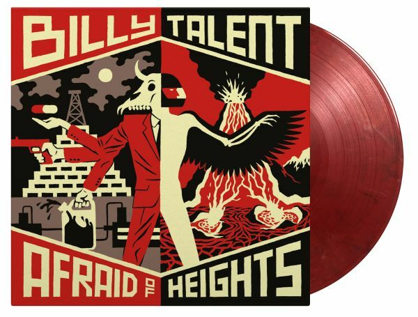 BILLY TALENT, afraid of heights cover