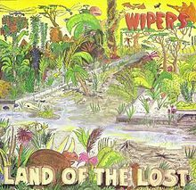 WIPERS, land of the lost (yellow vinyl repress) cover