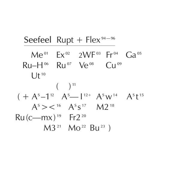SEEFEEL, rupt & flex cover