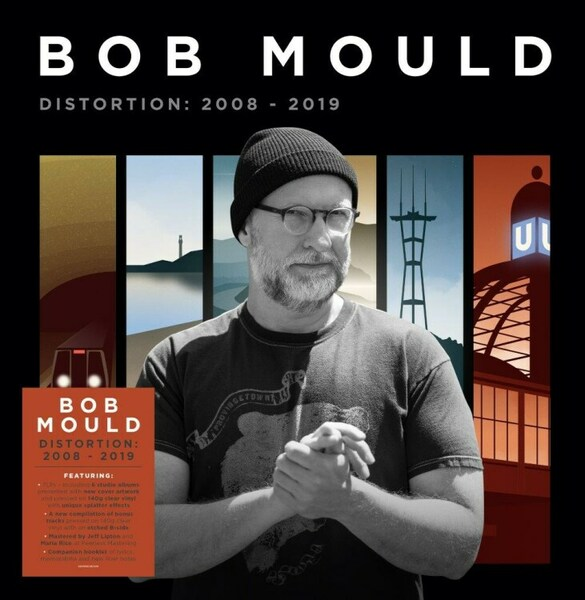 BOB MOULD, distortion: 2008-2019 cover
