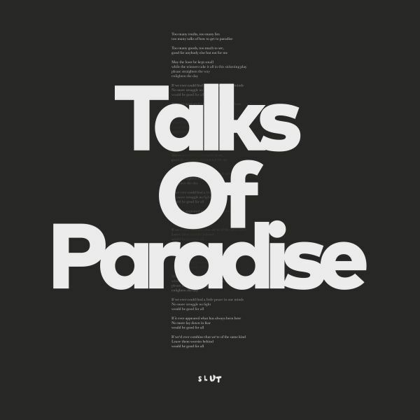 SLUT, talks of paradise cover