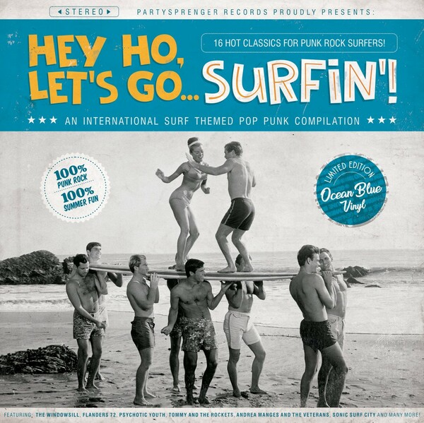 V/A, hey ho, let's go surfin'! cover