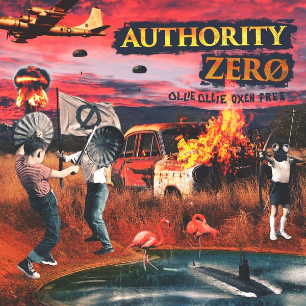 AUTHORITY ZERO, ollie ollie oxen free cover