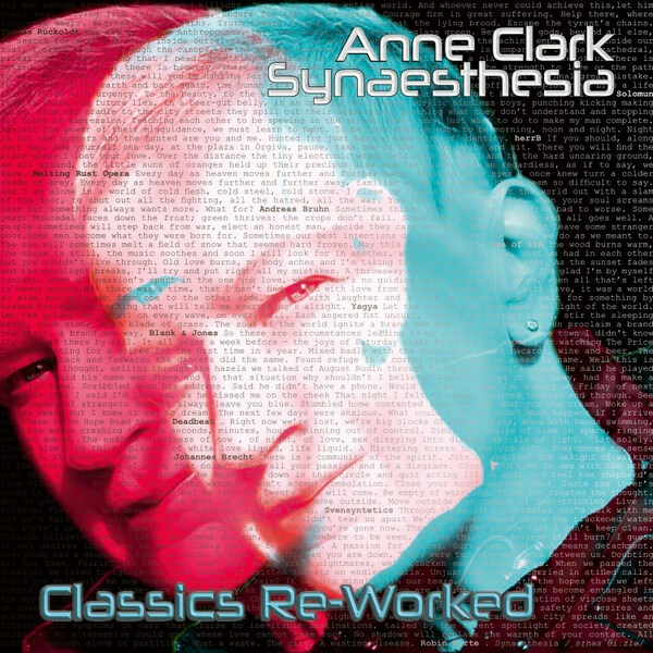 ANNE CLARK, synaesthesia - classics re-worked cover