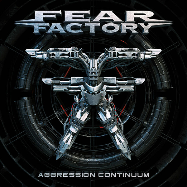 FEAR FACTORY, aggression continuum cover