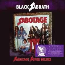 BLACK SABBATH, sabotage (super deluxe) cover