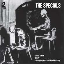 SPECIALS, ghost town (40th anniversary half speed master) cover