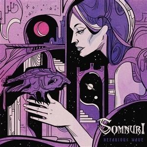 SOMNURI, nefarious wave (splatter vinyl) cover