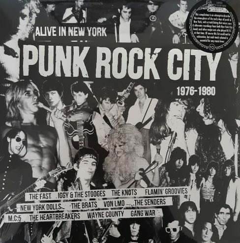V/A, punk rock city - alive in new york 1976 - 1980 cover