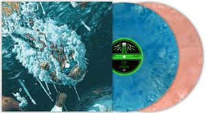 SLEEP, clarity/leagues beneath (peach & turquoise) cover