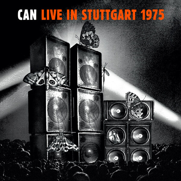 CAN, live in stuttgart 1975 cover