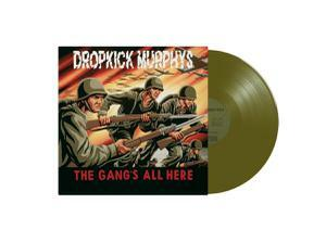 DROPKICK MURPHYS, gang´s all here (green vinyl) cover