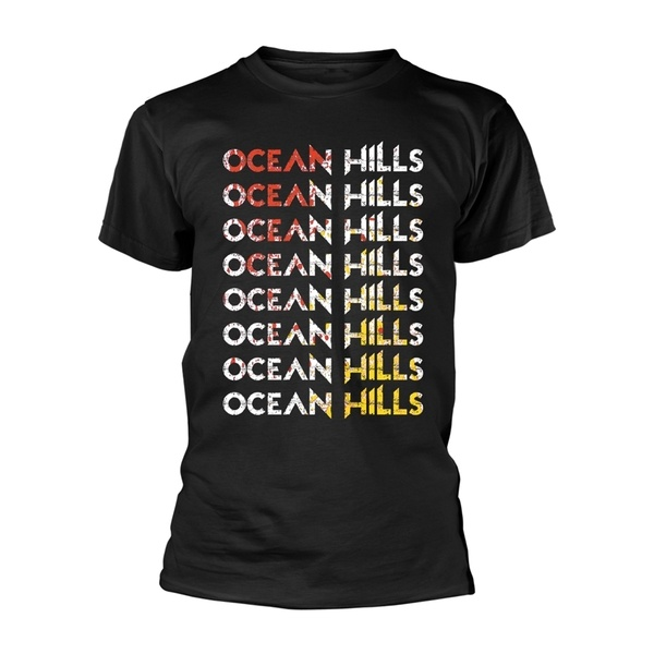 OCEAN HILLS, logo (boy) black cover