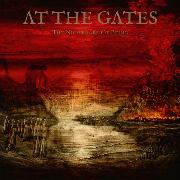 AT THE GATES, the nightmare of being cover