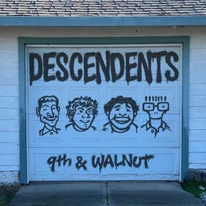 DESCENDENTS, 9th & walnut (aqua blue) cover