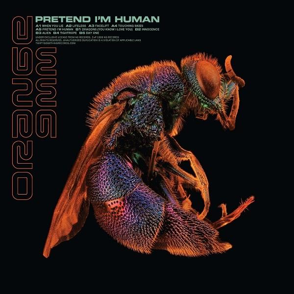 ORANGE 9MM, pretend i´m human cover