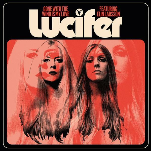 LUCIFER, gone with the wind is my love (black vinyl) cover