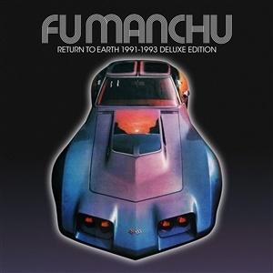 FU MANCHU, return to earth (neon purple vinyl) cover