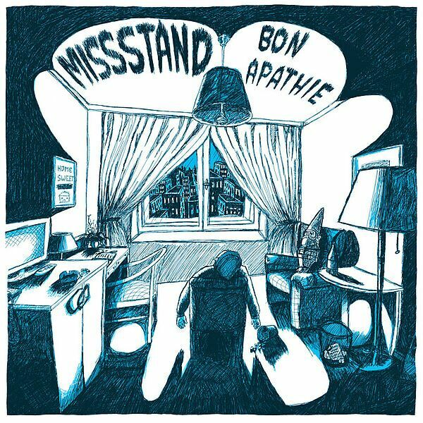 MISSSTAND, bon apathie cover