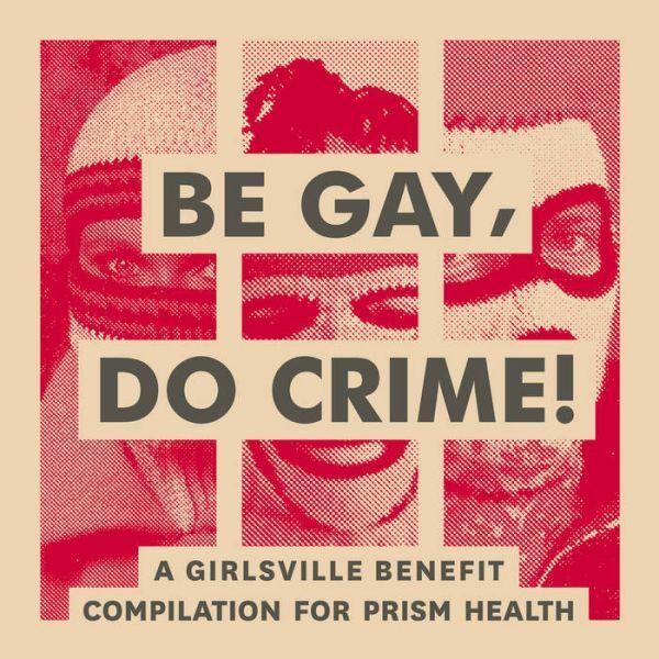 V/A, be gay, do crime cover