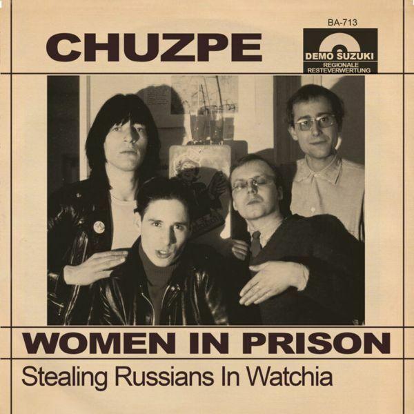 CHUZPE, women in prison cover