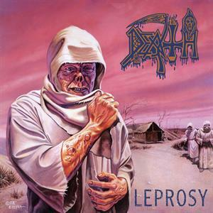 DEATH, leprosy (butterfly edition) cover